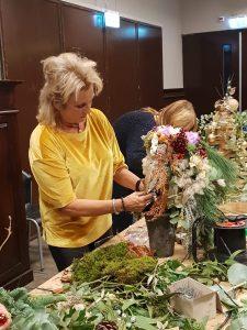 Angelique bloemen workshop